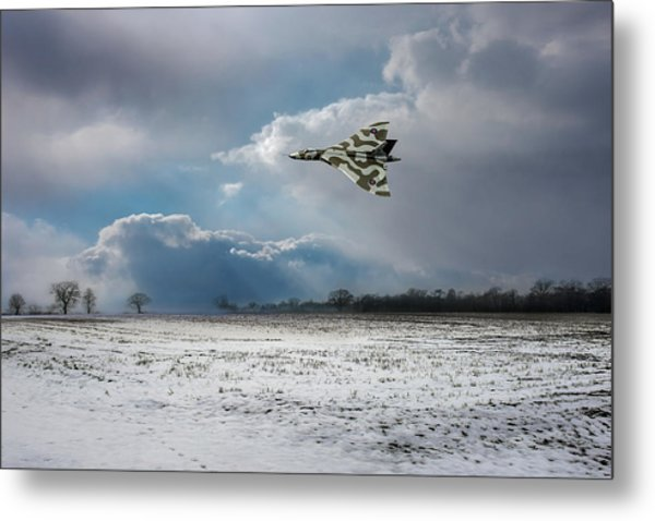 Metal Print featuring the photograph Cold War Warrior by Gary Eason