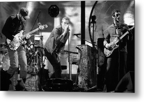 Coldplay 15 Metal Print