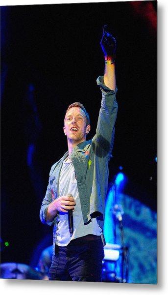 Coldplay8 Metal Print