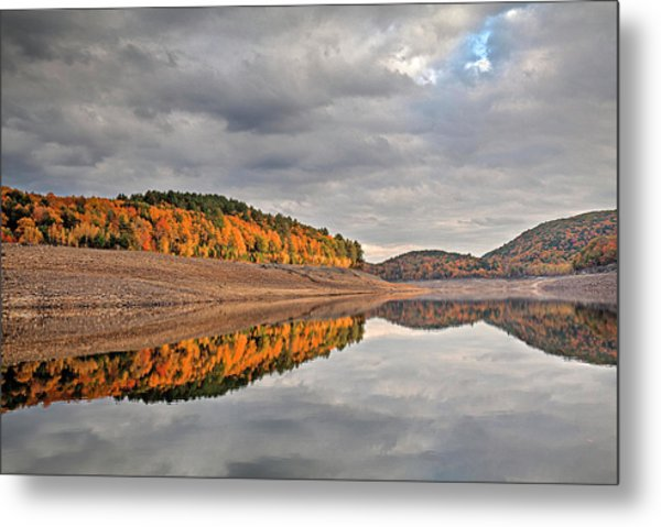 Colebrook Reservoir - In Drought Metal Print