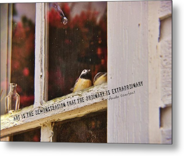 Collectibles Quote Metal Print by JAMART Photography