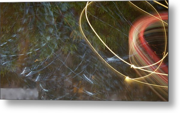 Colliding Worlds  Metal Print