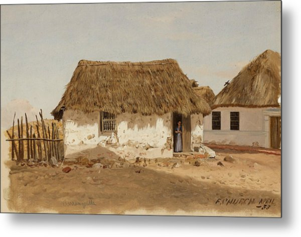 Colombia Barranquilla Two Houses  Metal Print