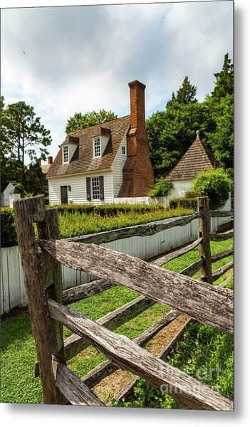 Colonial America Home Metal Print
