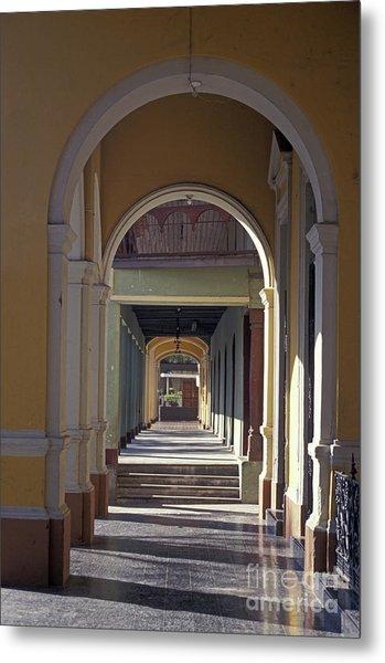 Colonial Arches Granada Nicaragua Metal Print