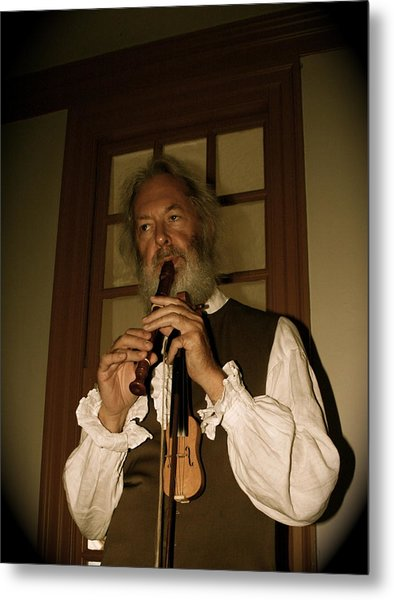 Colonial Entertainer Metal Print by Aimee Galicia Torres