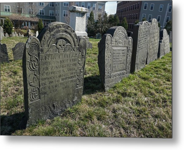 Colonial Graves At Phipps Street Metal Print
