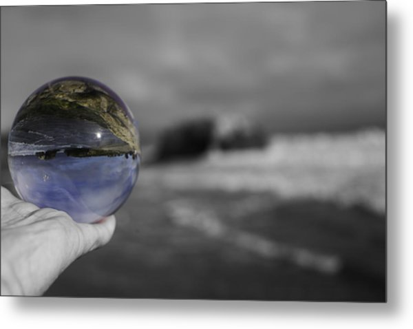 Color Ball Metal Print