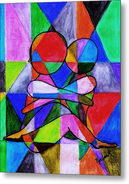 Color Blind Metal Print by Thomas J Norbeck