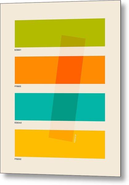 Color Burn 2 Metal Print