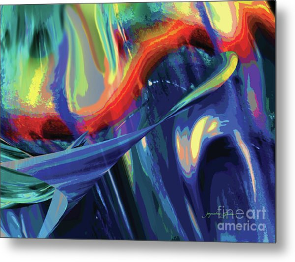 Color Flight Metal Print