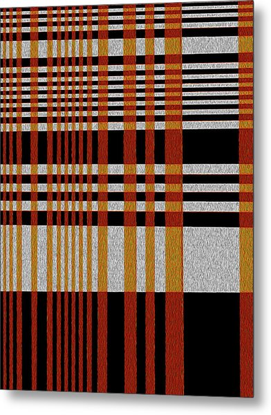 Color Grid Metal Print