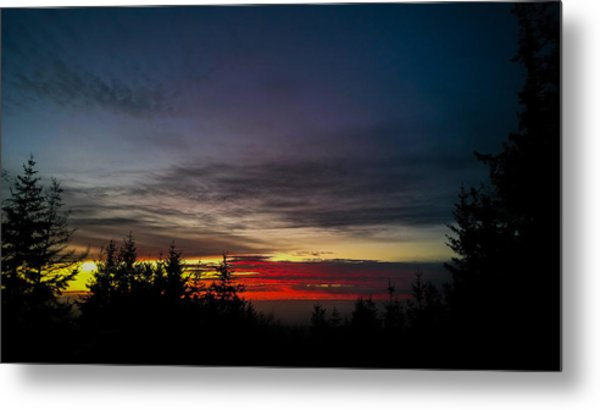 Color Of Dusk Metal Print