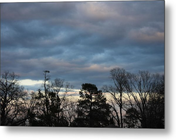 Color Of The Sky Metal Print by Lee Anderson