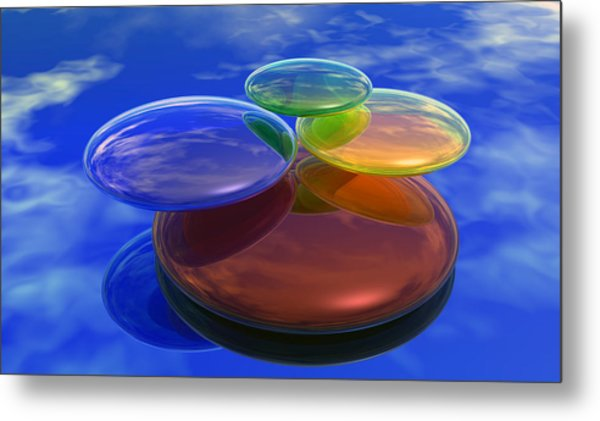 Color Reflections Metal Print