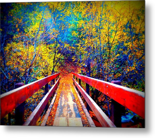 Color Springs Metal Print