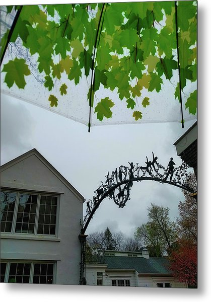 Color To The Rain Metal Print by Jamart Photography