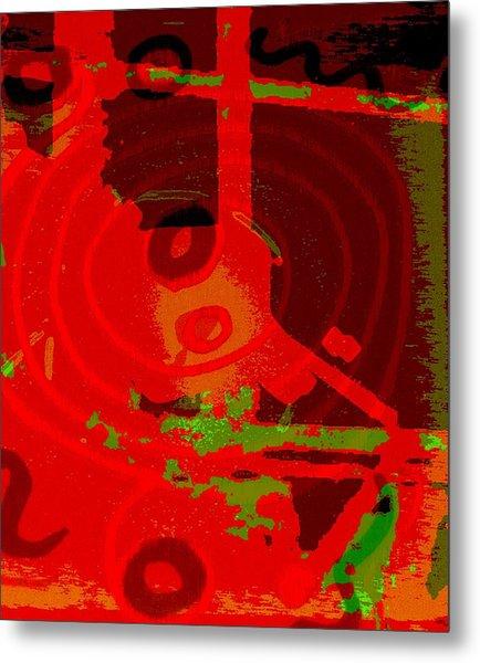 Color Trap Metal Print by Mildred Ann Utroska        Mauk