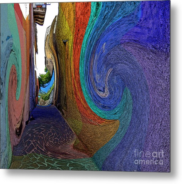 Color Undertow Metal Print by Ayesha DeLorenzo