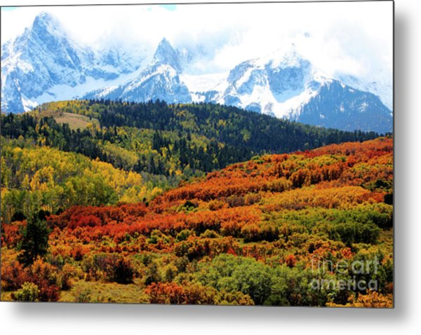 Colorado Autumn 2016 San Juan Mountains  Metal Print