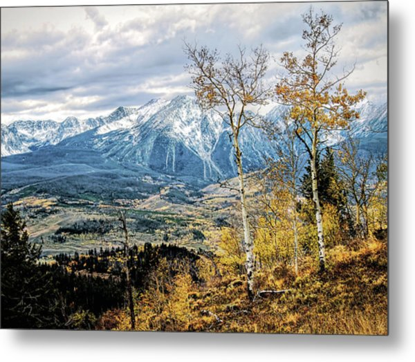 Colorado Autumn Metal Print