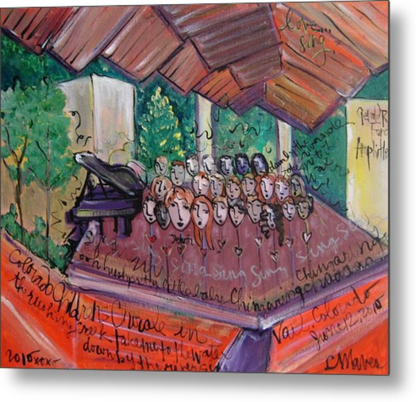 Colorado Childrens Chorale Metal Print