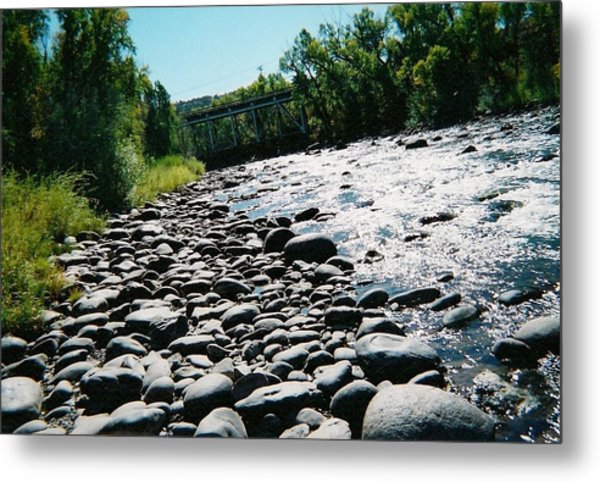 Colorado Cool Metal Print by Fred Wilson
