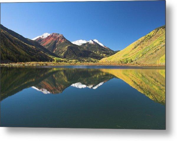 Colorado Reflections Metal Print