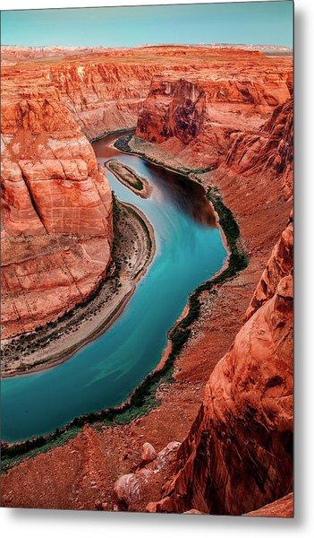 Colorado River Bend Metal Print
