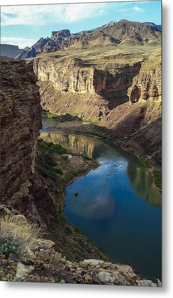 Colorado River Grand Canyon National Park Metal Print