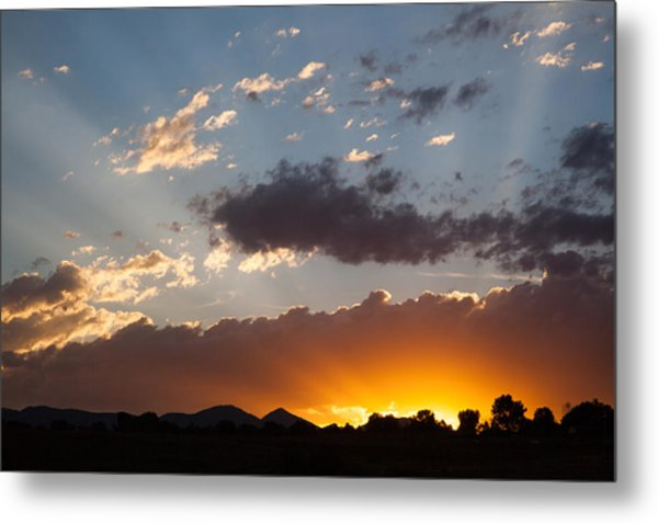 Colorado Sunset Metal Print
