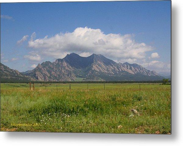 Colorado Wonder Metal Print by KatagramStudios Photography