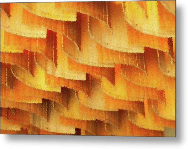 Colorful Bamboo Ceiling- China Metal Print