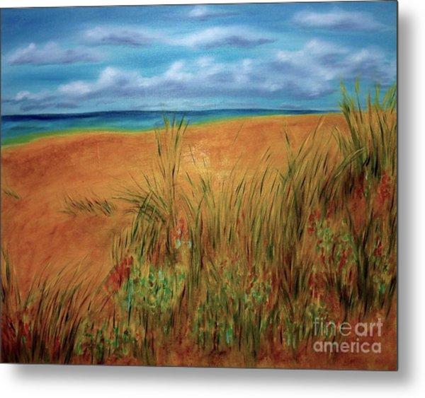 Colorful Beach Metal Print