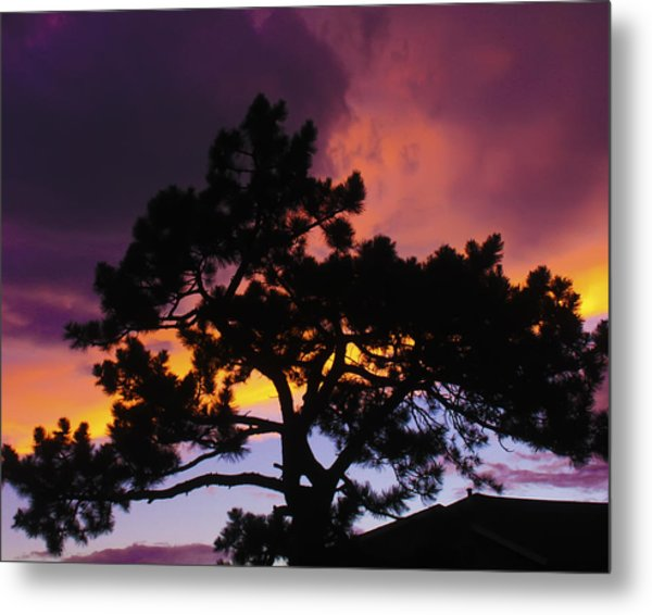 Colorful Colorado Sunset Metal Print