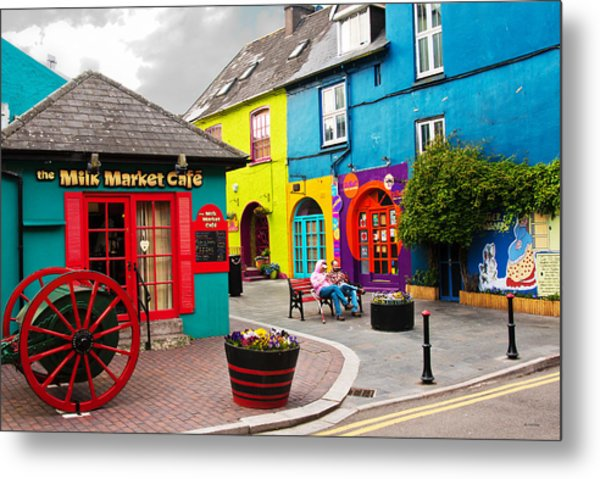 Colorful Corner Metal Print