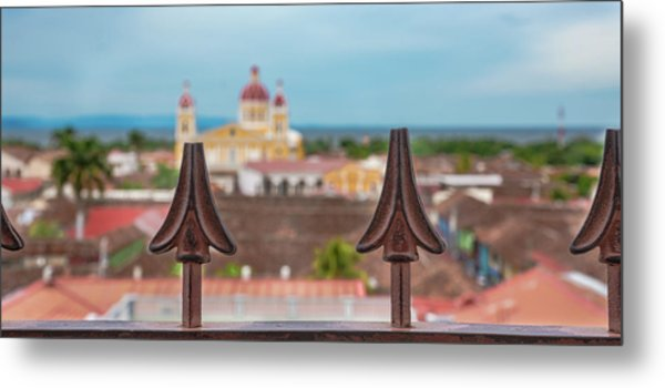 Colorful Granada II Metal Print by Michael Santos