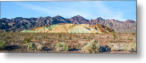Colorful Hills Metal Print