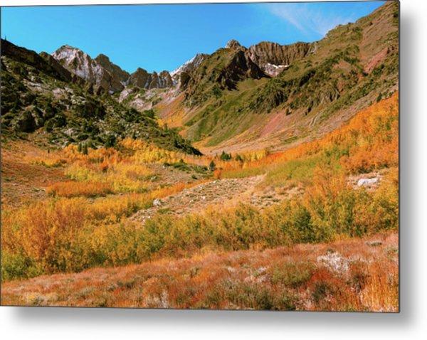 Colorful Mcgee Creek Valley Metal Print