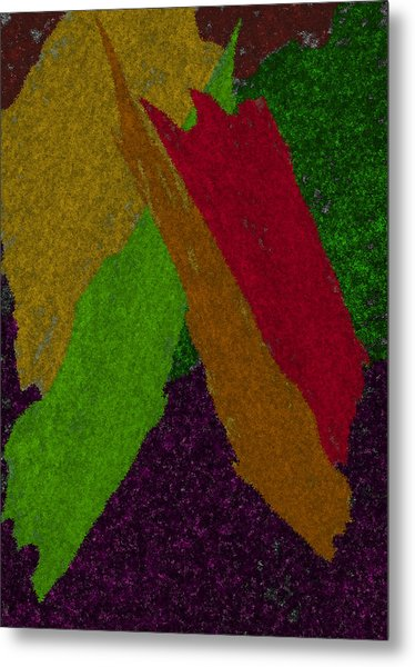 Metal Print featuring the digital art Colorful by Michelle Audas
