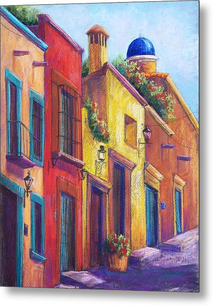 Colorful San Miguel Metal Print by Candy Mayer