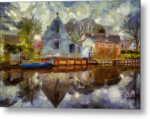 Colorful Serenity Metal Print