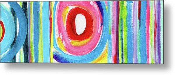 Colorful Uprising 6- Art By Linda Woods Metal Print