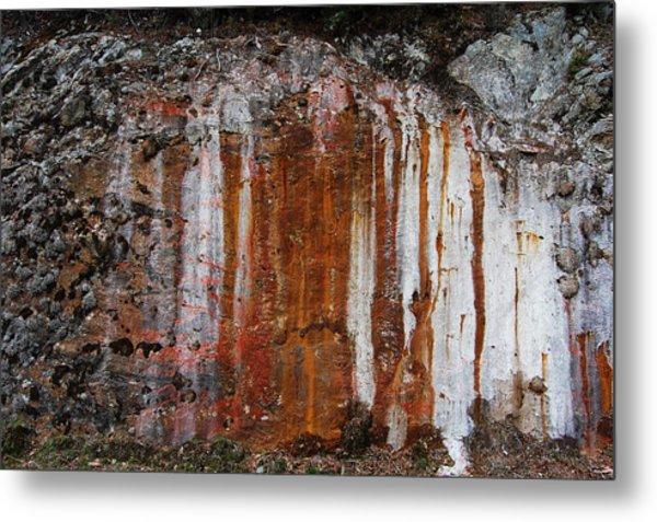 Colors Below A Gold Mine Metal Print by Sarah King