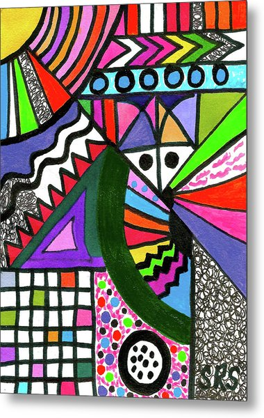 Colors Gone Wild Metal Print