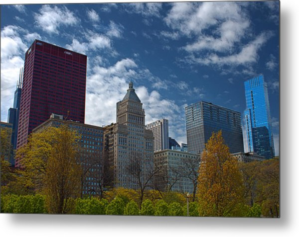 Colors In The City Metal Print