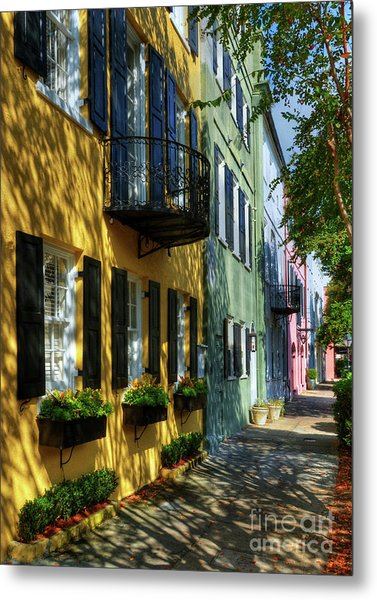 Colors Of Charleston 3 Metal Print