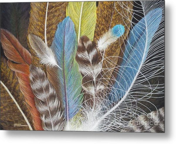Colors Of Flight Metal Print