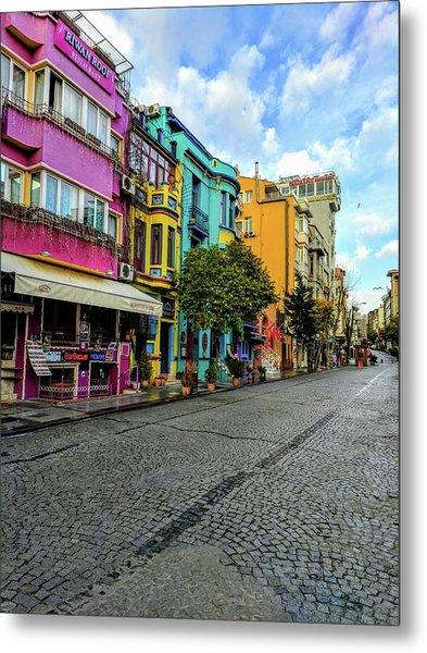 Colors Of Istanbul Metal Print