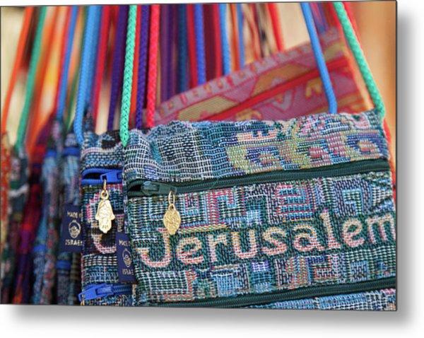 Colors Of Jerusalem Metal Print